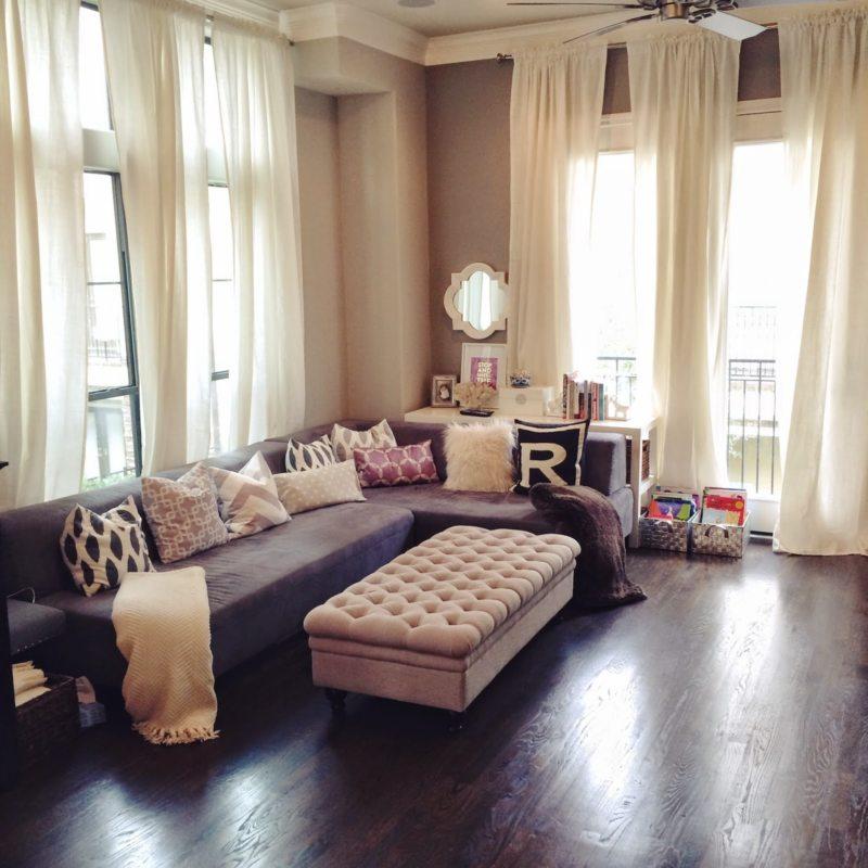 шторы в гостинной (17)