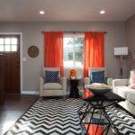 шторы в гостинной (2)