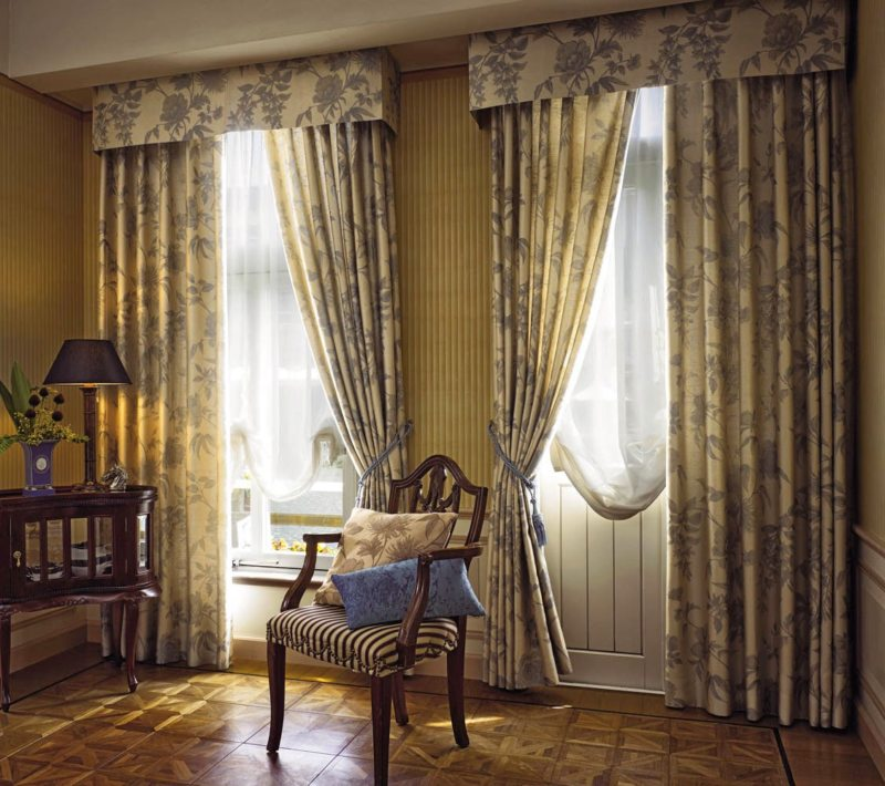 шторы в гостинной (37)