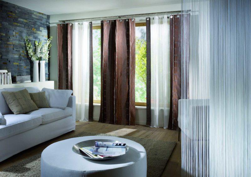 шторы в гостинной (41)