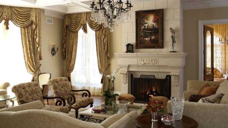 шторы в гостинной (49)