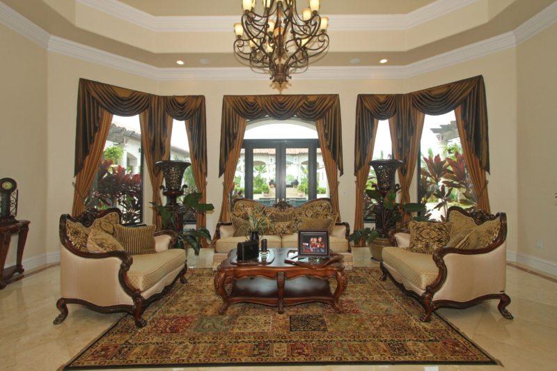шторы в гостинной (54)