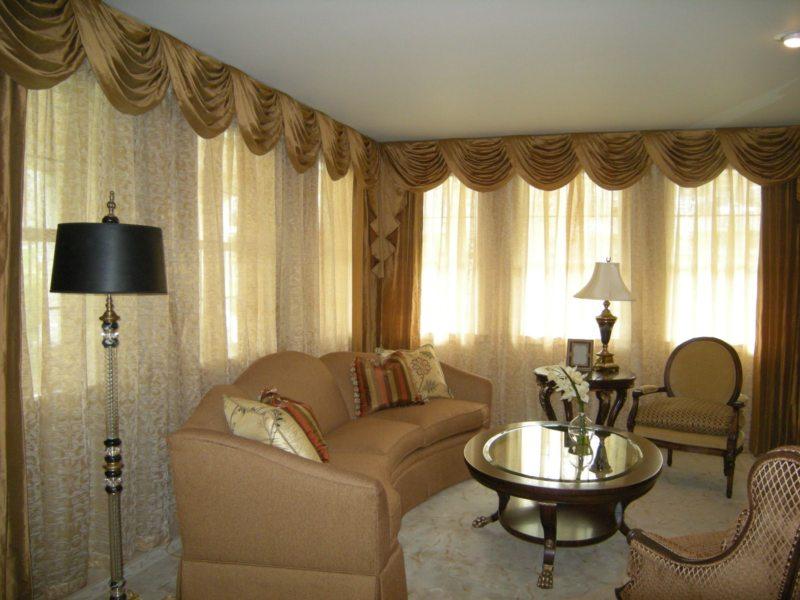 шторы в гостинной (9)