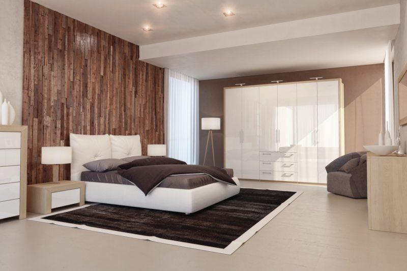 Bedroom in modern style (0)