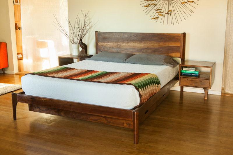 Bedroom in modern style (12)