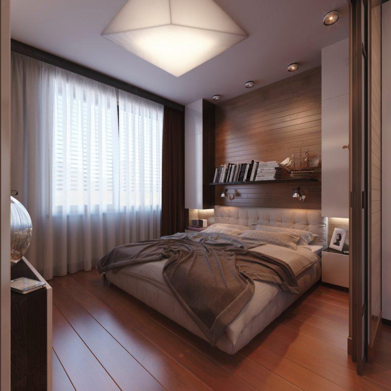 Bedroom in modern style (14)