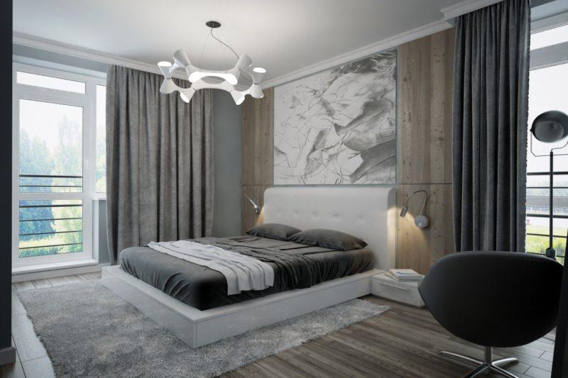 Bedroom in modern style (15)