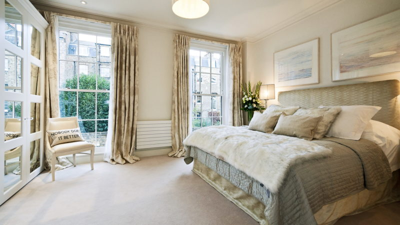 Bedroom in modern style (16)