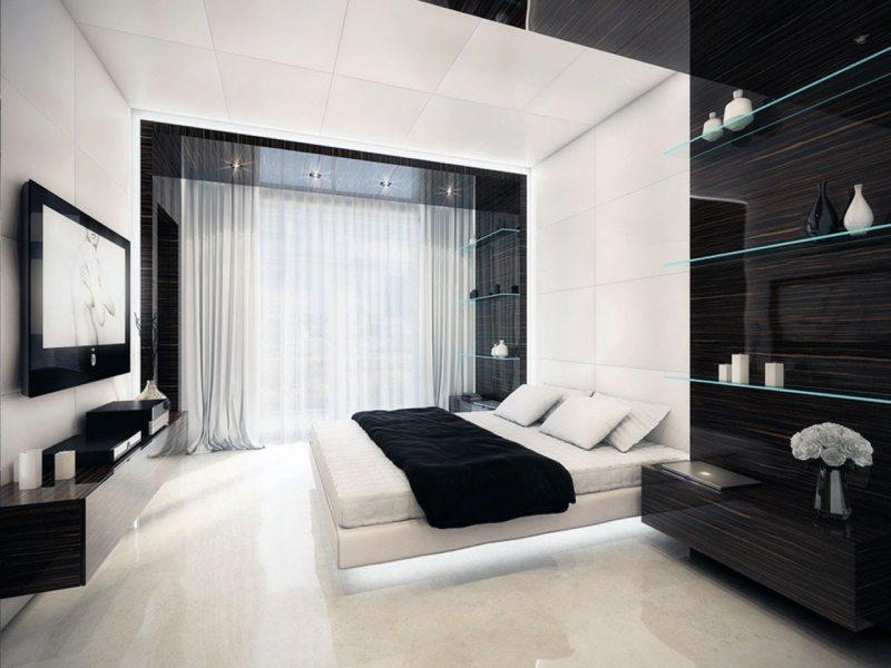 Bedroom in modern style (17)