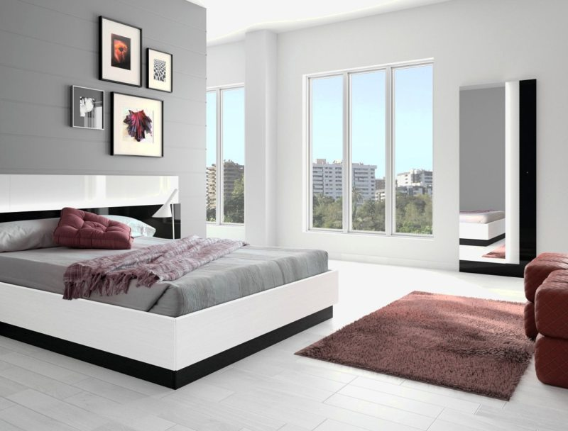 Bedroom in modern style (20)