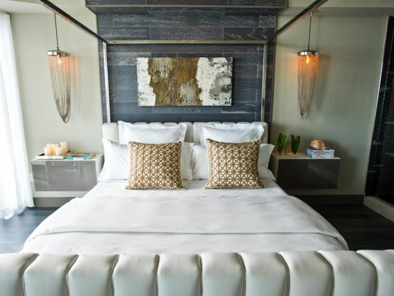 Bedroom in modern style (28)