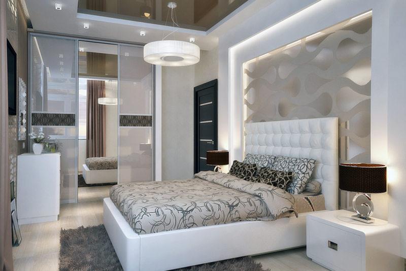 Bedroom in modern style (29)