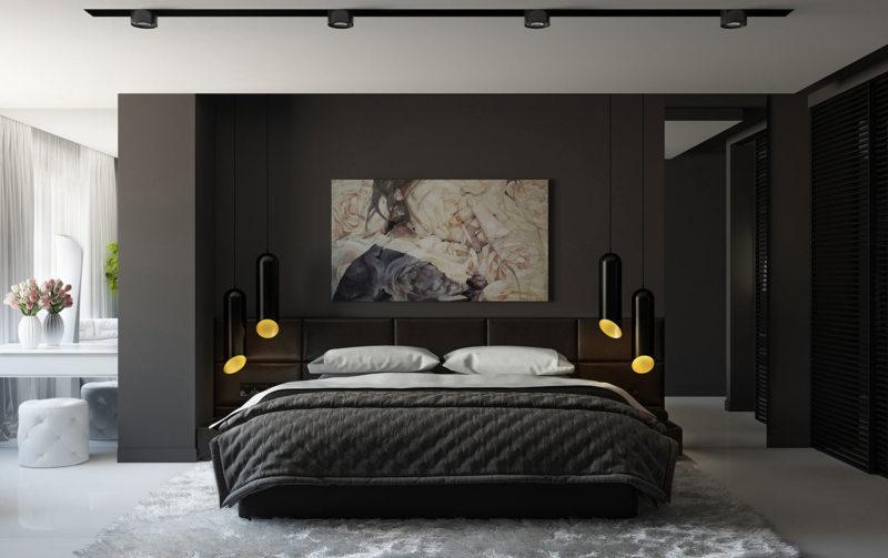 Bedroom in modern style (4)