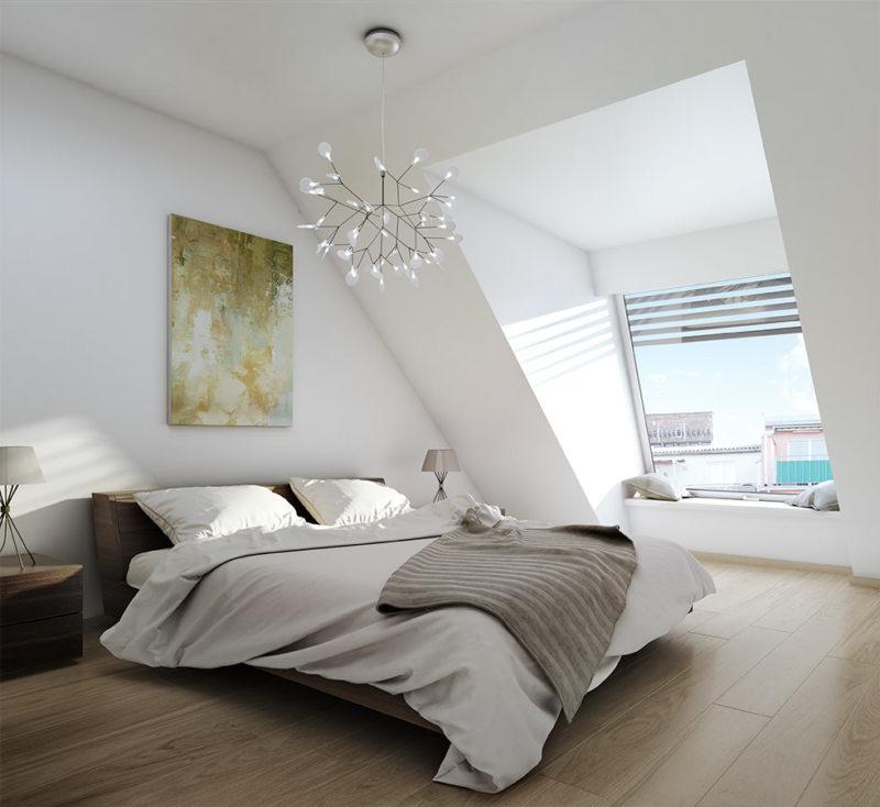 Bedroom in modern style (5)