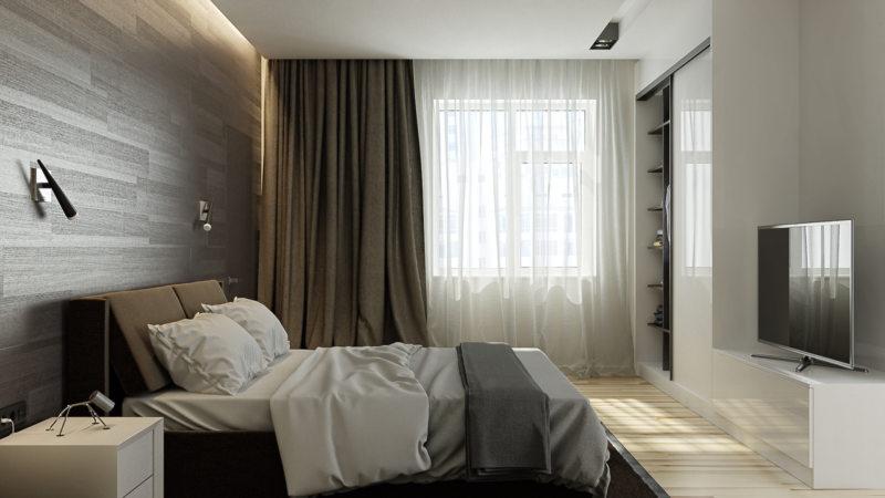 Bedroom in modern style (7)