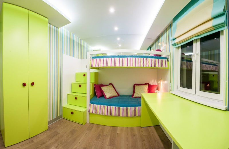 Bedrooms for children (2)