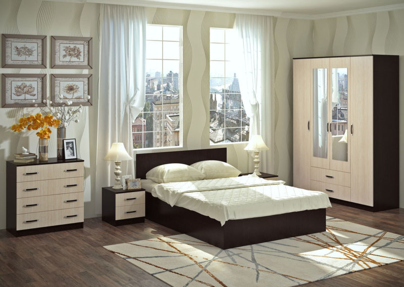 Бежевая спальня (8)
