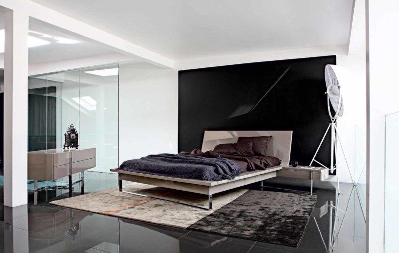 Черно-белая спальня (1)