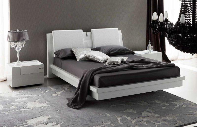 Черно-белая спальня (9)