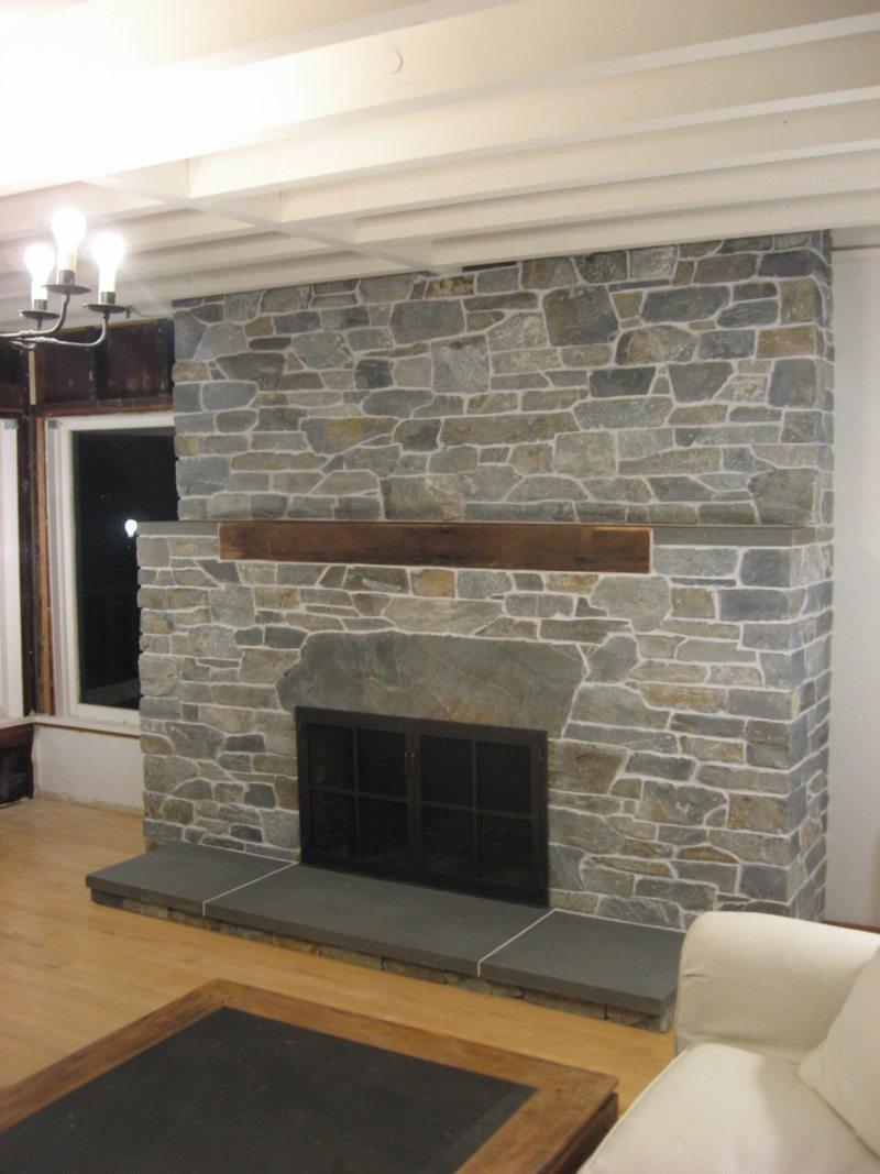 Декоративный камень в интерьере (20)