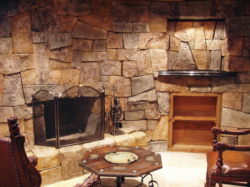 Декоративный камень в интерьере (43)
