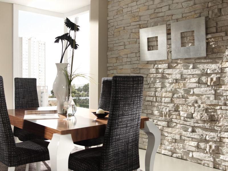 Декоративный камень в интерьере (62)