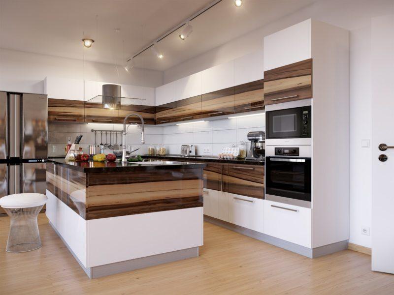 Дизайн кухни 2017 года (1)