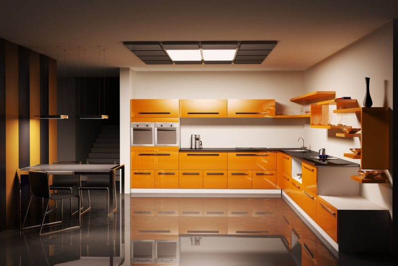 Дизайн кухни 2017 года (17)