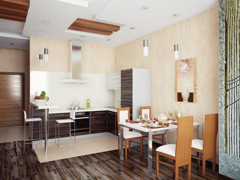 Дизайн кухни 2017 года (4)