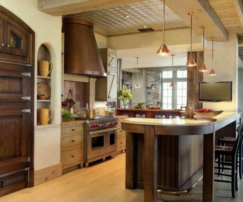 Дизайн кухни 2017 года (5)
