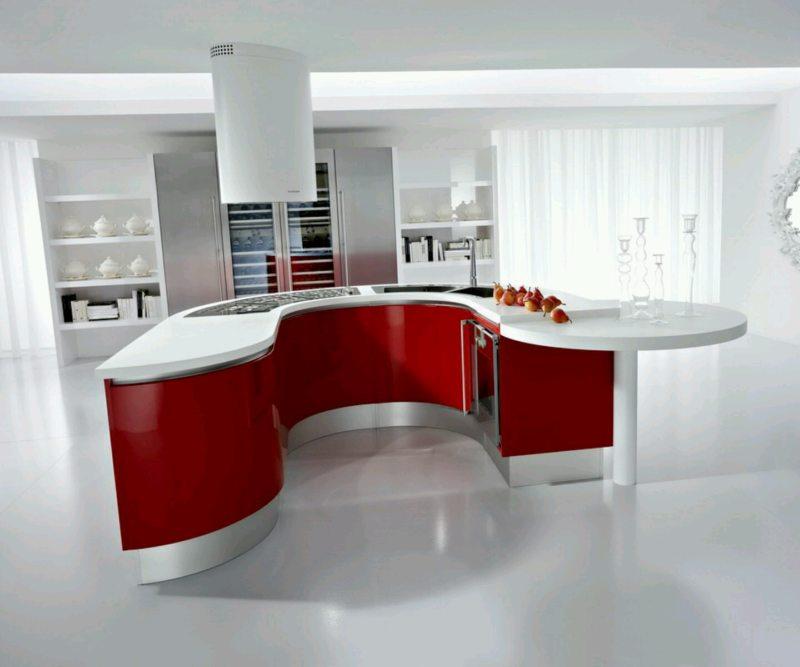 Дизайн кухни 2017 года (51)