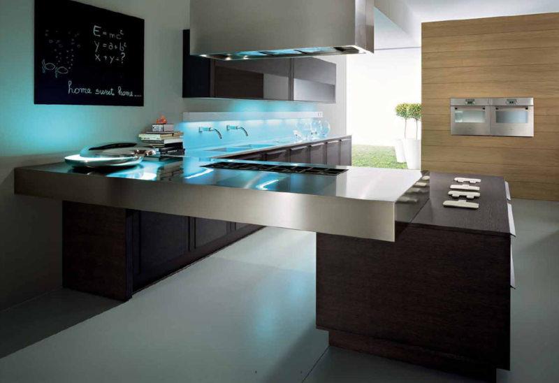 Дизайн кухни 2017 года (52)