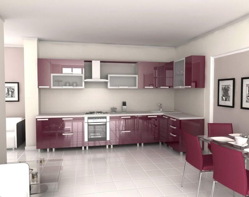Дизайн кухни 2017 года (60)