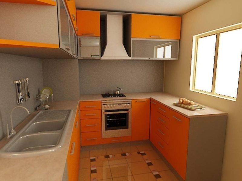 Дизайн кухни 2017 года (8)