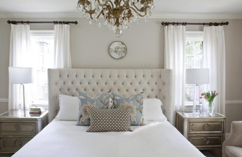 Дизайн спальни обои фото 2018 современные идеи
