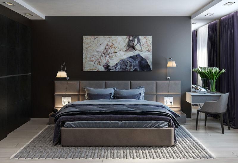 Дизайн спальни 2017 (31)