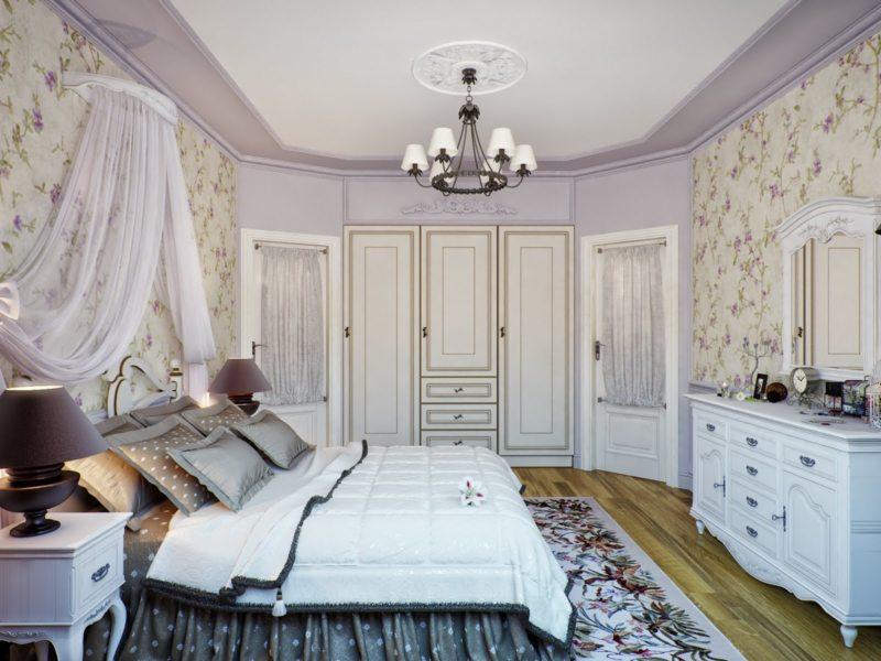 Дизайн спальни 2017 (33)