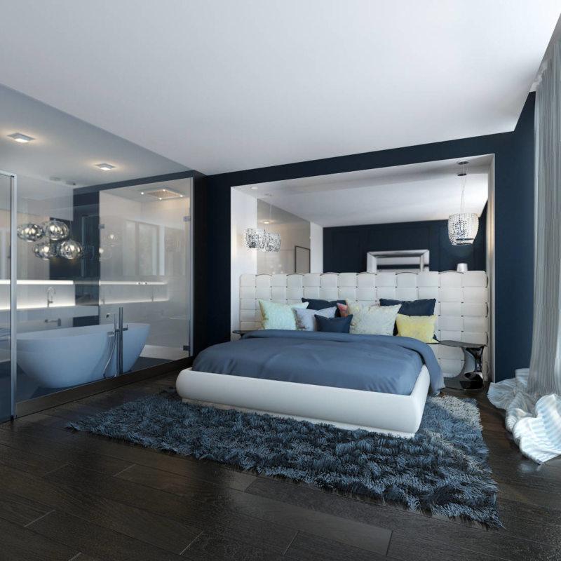 Дизайн спальни 2017 (52)