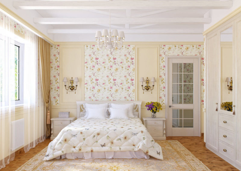 Дизайн спальни 2017 (58)