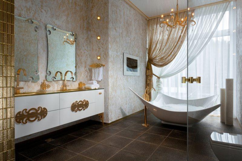 Дизайн ванной 2017 (31)