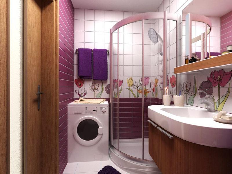 Дизайн ванной 2017 (35)