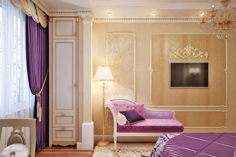 Фиолетовая спальня (01)