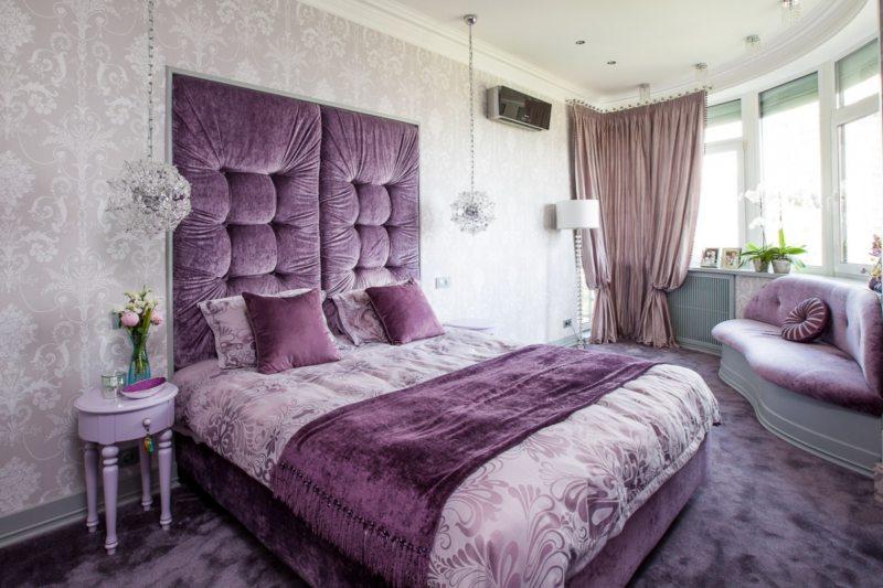 Фиолетовая спальня (1)