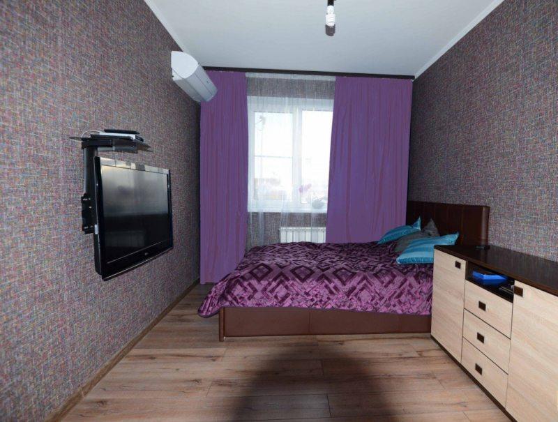 Фиолетовая спальня (10)