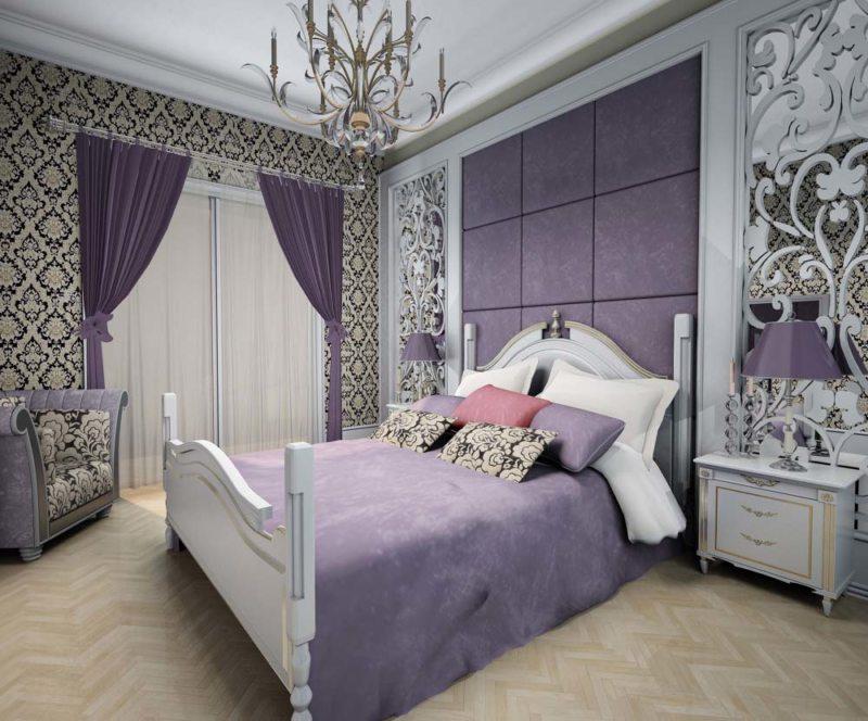 Фиолетовая спальня (13)