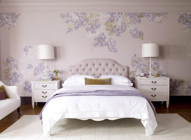 Фиолетовая спальня (2)