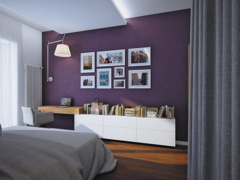 Фиолетовая спальня (3)