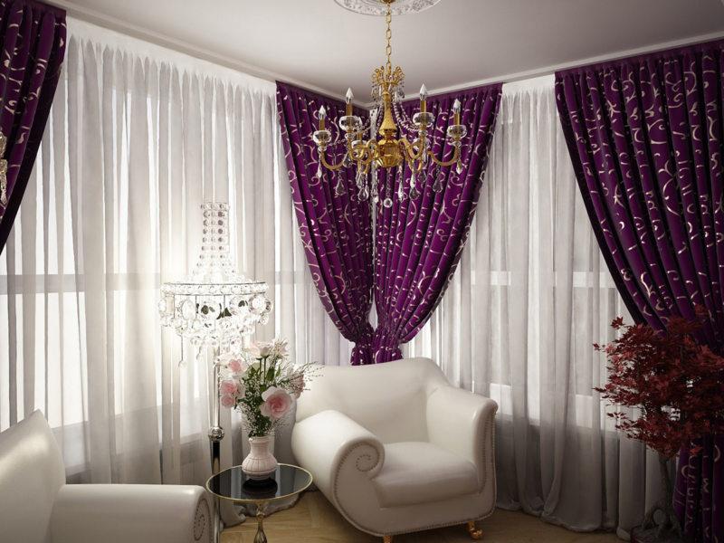 Фиолетовая спальня 5 (1)