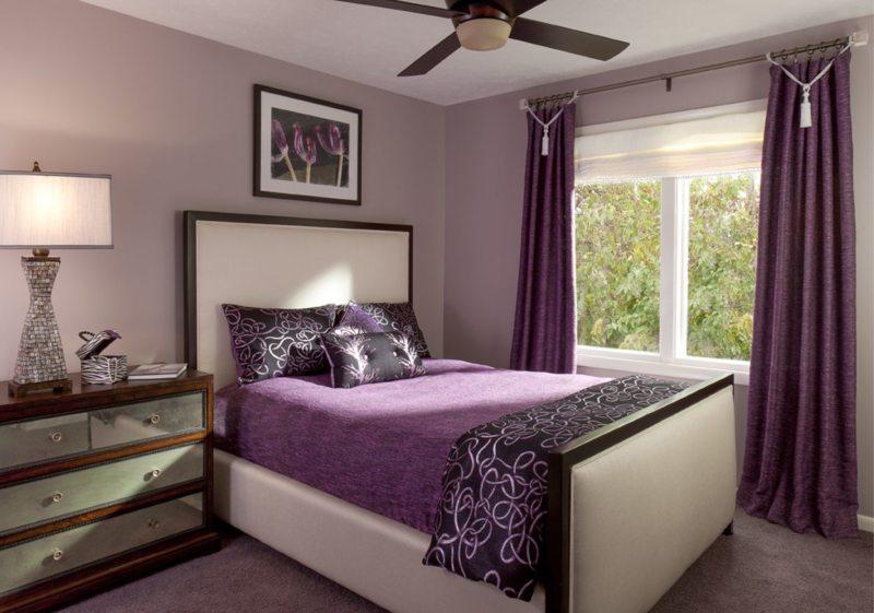 Фиолетовая спальня 5 (13)