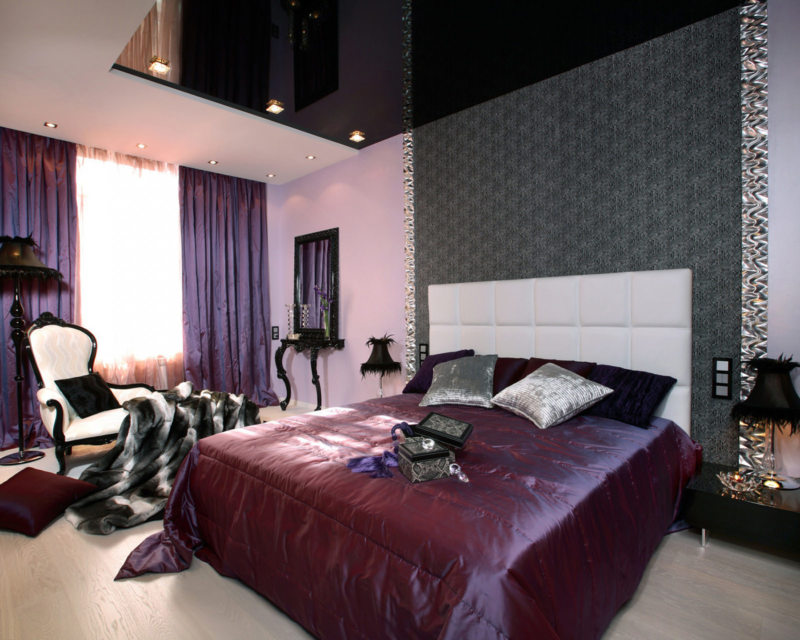 Фиолетовая спальня 5 (9)